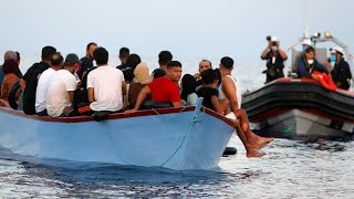 video: Watch:99 migrants rescued from Mediterranean Sea