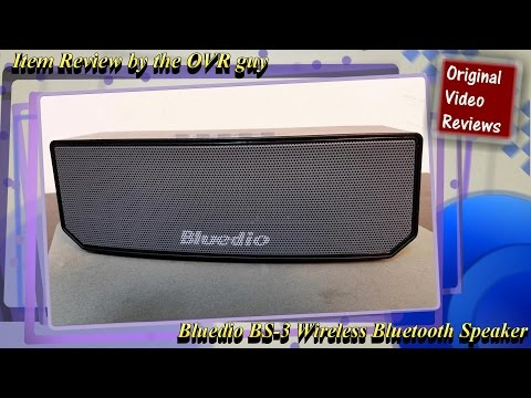 Item review – Bluedio BS-3 Wireless Bluetooth Speaker