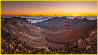 How To Photograph Into A Sunrise With A Dark Foreground - At 10,000 Feet High On A Volcano