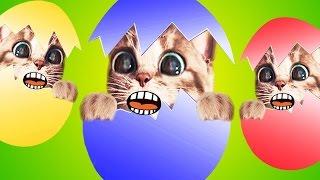 МОЙ Маленький КОТЕНОК СИМУЛЯТОР котика МИМИ как мультик виртуальный питомец видео для детей #ММ