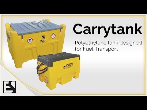 PORTABLE GASOLINE TANK 116 GAL - CARRYTANK