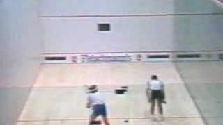 Jahangir Khan Vs Talbott Final Squash Hard Ball Part 3