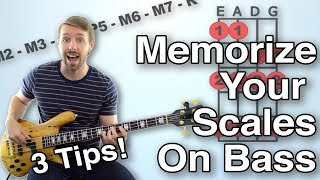 How To Memorize Bass Scales: Three Tips To Make Sure You Never Forget A Scale