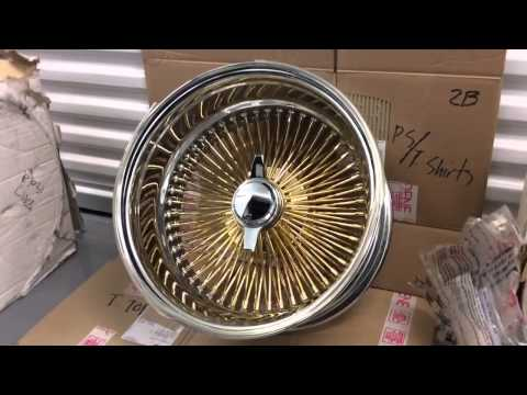 Gold 100 Spoke Knock Offs And Vogue Tires Mp3