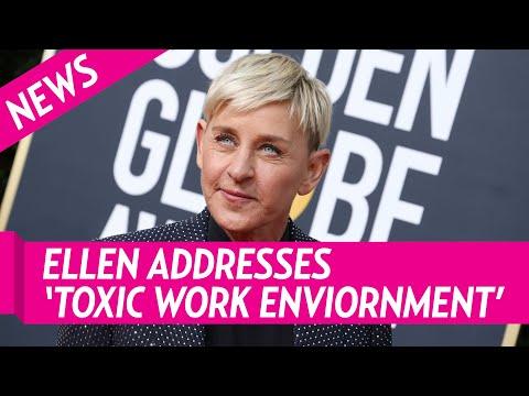Ellen DeGeneres Addresses 'Toxic' Environment Claims During Show's Return