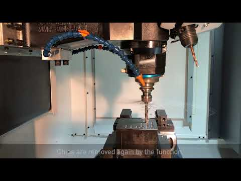 Removing Chips in Drill Cycle