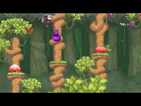 Kaze and The Wild Masks: first levels gameplay de Kaze and the Wild Masks