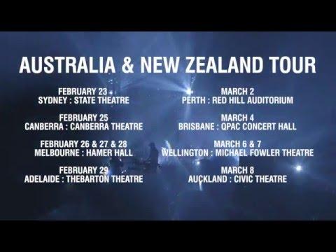 SUFJAN STEVENS - LIVE ON TOUR AU/NZ