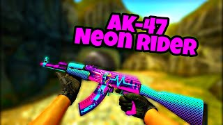 CS:GO - [Horizon Case] AK-47 Neon Rider | Showcase (All Wear)