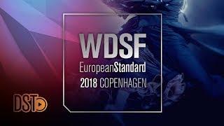 Glukhov - Glazunova, RUS | 2018 European STD| R1 Q | DanceSport Total