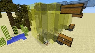 Minecraft: Compact Dropper Clock for Item Transport System! (1 13