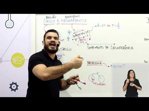 Aula 13 | Círculo e Circunferência - Parte 01 de 03 - Matemática