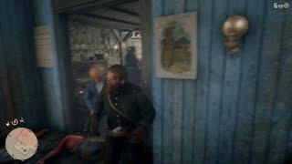 Red Dead Redemption 2 Crazy Bar Fight