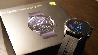Huawei Watch GT2 - 46mm Unboxing & Tour