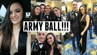 Military / Army Ball Vlog! - January 9th, 2016