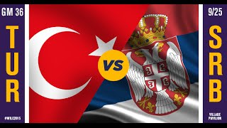 WILC 2015: Game 36 - Turkey vs. Serbia