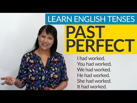 Learn English Tenses: PAST PERFECT