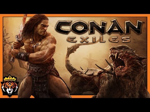 Surviving in the Desert of Conan the Barbarian! (Conan Exiles Gameplay) #1