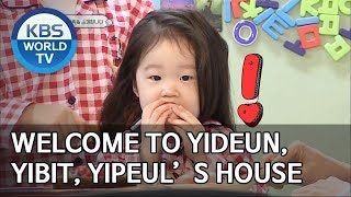 Welcome to Yideun, Yibit and Yipeul's house! [The Return of Superman/2019.05.26]