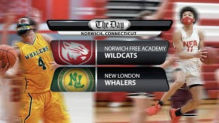 Full replay: New London at NFA boys' basketball