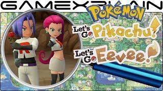 Pokémon Let's Go Pikachu & Eevee ANALYSIS - Explore the World Trailers (Secrets & Hidden Details)
