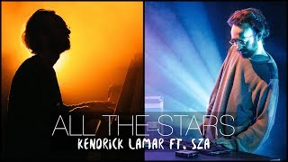 "Video thumbnail of """"All The Stars"" - Kendrick Lamar ft. SZA (ROLI BLOCKS & Piano Cover) - Costantino Carrara"""