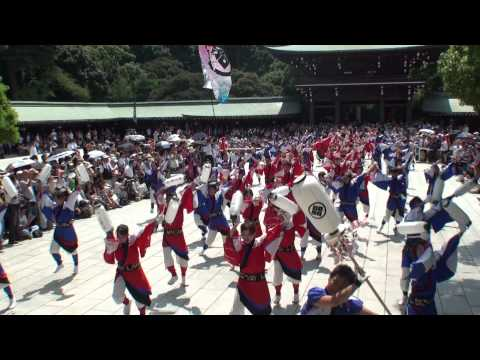 国士舞双さん@2010 スーパーよさこい奉納演舞