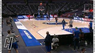 Luka Doncic Makes an Insane Shot From Behind the Backboard - 76ers vs Mavericks   April 12, 2021