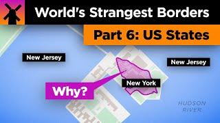 The World's Strangest Borders Pt 6: Wacky US States thumbnail