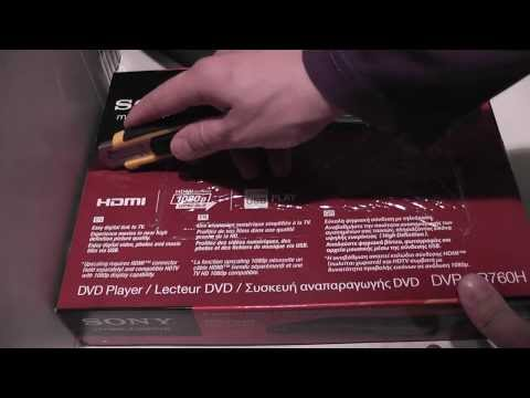 DVD Player Sony DVP-SR760H (film 088) - YouTube