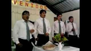 preview picture of video 'cuarteto adventistas 2012 san camilo central iglesia la mana sociedad de jovenes'