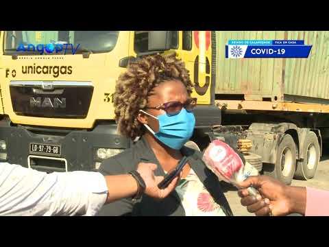 EXECUTIVO ENVIA 64 TONELADAS DE BENS ÀS VÍTIMAS DA SECA NA HUÍLA