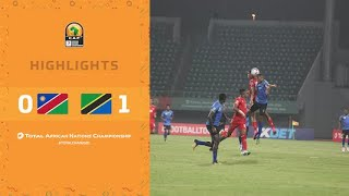 CHAN 2020 | 1er tour – Groupe D : Namibie 0-1 Tanzanie
