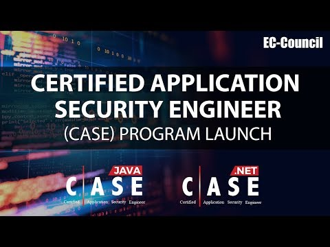 Certified Application Security Engineer (CASE) Program Launch ...