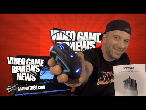 Sharkk 14 button gaming mouse review - Gamester81