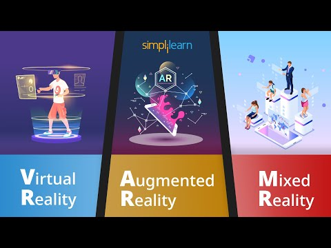 The Rise Of Technology-Augmented Reality(AR), Virtual Reality(VR) And Mixed Reality(MR)  Simplilearn