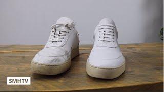 SMHTV 2 | Witte sneakers schoonmaken