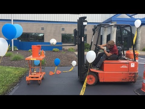 Video thumbnail for 2019 Air Innovations Forklift Rodeo – Highlight Reel