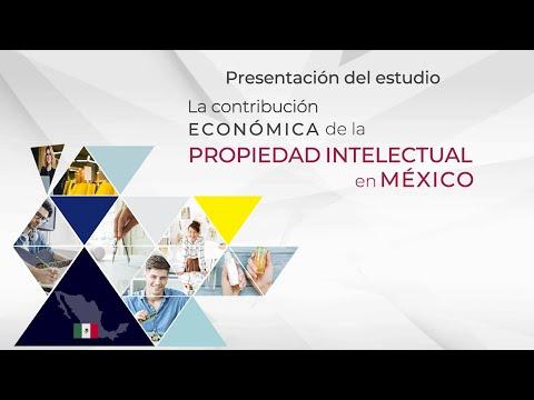 Presentación del estudio La contribución económica de la PI en México
