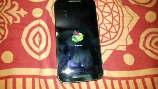 Motorola Moto G 3rd generation XT 1550 hard reset