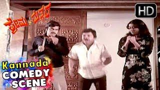 Kannada Comedy Scenes | Dwarakish And Umesh Comedy | Prema Mathsara Kannada Movie | Ambarish