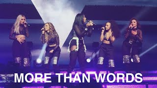 Little Mix And Kamille   More Than Words Live