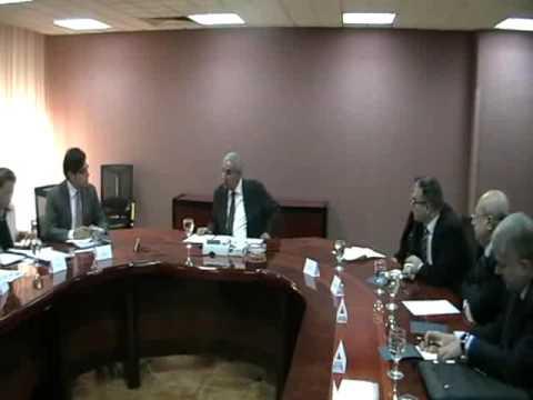 إجتماع الوزير/طارق قابيل مع وفد منظمة التجارة العالمية