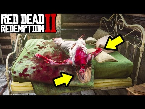 DO NOT SLEEP WITH HER in Red Dead Redemption 2! Red Dead 2 Secrets Easter Egg!