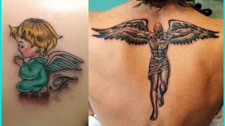 Best Angels Tattoos For Men | Angels Tattoos For Women