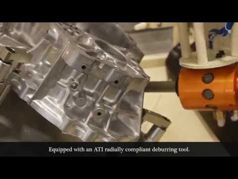 Robotic Deburring Tools | ATI Flexdeburr