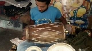 Shiva Playing Dholak