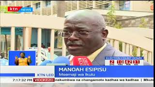Rais Uhuru Kenyatta afanya mkutano na mwenyekiti wa tume huru IEBC Wafula Chebukati