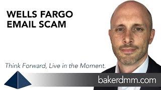 Wells Fargo Email Scam