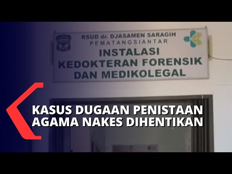 Jaksa Hentikan Kasus Dugaan Penistaan Agama Nakes